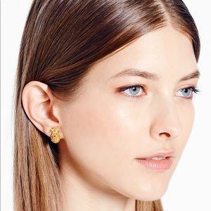 Kate Spade Pineapple 🍍 Stud Earrings